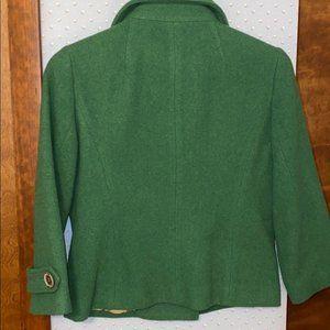 CAbi Jackets & Coats - Cabi Short Peacoat, Kelly Green Size 4